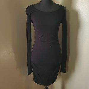 Express Long Sleeve Sweater Dress